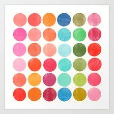 colorplay 5 Art Print