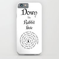Alice In Wonderland Down The Rabbit Hole iPhone 6 Slim Case