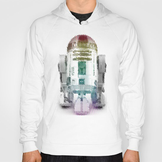 UNREAL PARTY 2012 R2D2 R2-D2 STAR WARS Hoody