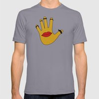 Handfaces Mens Fitted Tee Slate SMALL