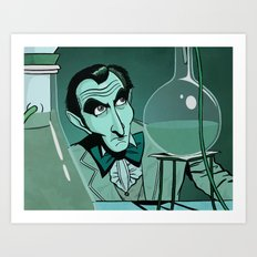 Chemical Cushing Art Print