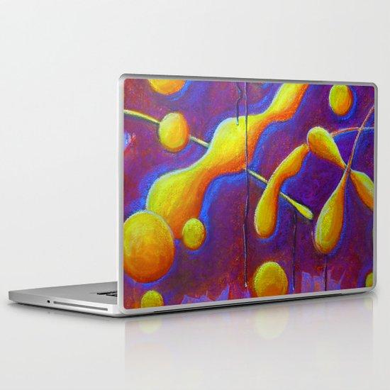 Dub Blobs Laptop & iPad Skin