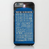 iPhone & iPod Case featuring Doctor Who  by Luke Eckstein