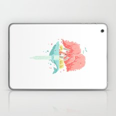 Whale Island Laptop & iPad Skin