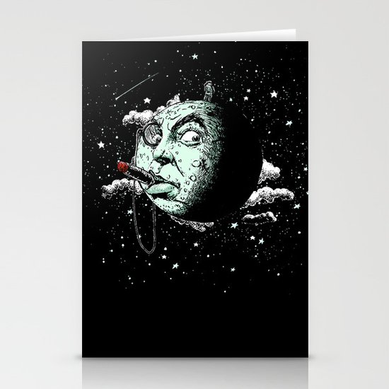The Dark Side Stationery Card