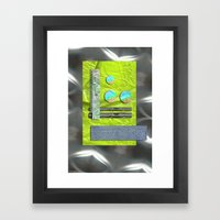 NEW AGE COMPOSITION 1 Framed Art Print