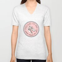 Dinosaurs eat man, woman inherits the earth Unisex V-Neck