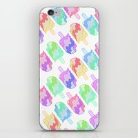 Ice Cream Melt iPhone & iPod Skin