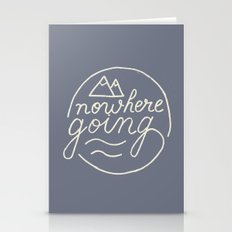Nowhere Going Stationery Cards