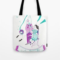 Sea Freaks Tote Bag