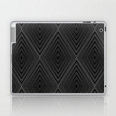 Diamonds (Black) Laptop & iPad Skin