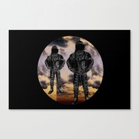 sky duo Canvas Print