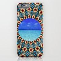 mandala sea iPhone 6 Slim Case