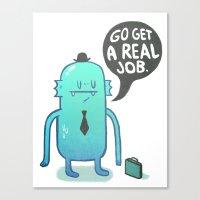 Job Hunt Canvas Print