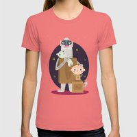 Boxtrolls Womens Fitted Tee Pomegranate SMALL