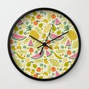 Fruit Mix Wall Clock