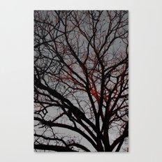 Veins of Life Canvas Print
