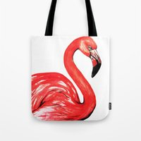 Delta The Flamingo Tote Bag