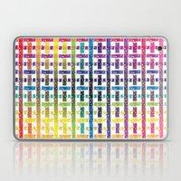 Stripes In Colours Laptop & iPad Skin