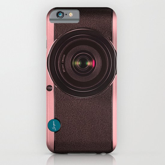 Vintage Camera III - Rosé Gold iPhone & iPod Case