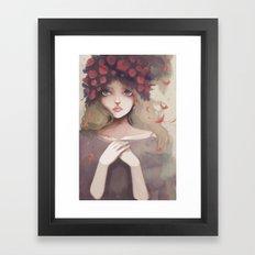 Le grand départ... Framed Art Print