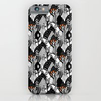 In the forest_B&W iPhone 6 Slim Case