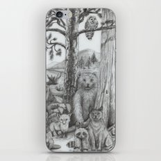 Woodland Friends iPhone & iPod Skin
