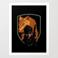 METAL GEAR: The Snake An… Art Print