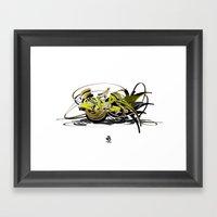 3d Graffiti - Soul Framed Art Print