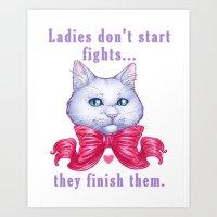 Ladies Art Print