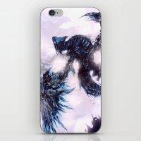 Coldfire Dragon iPhone & iPod Skin