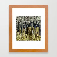 :: Gray Gatsby :: Framed Art Print