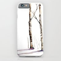 Birch Trees In January iPhone 6 Slim Case