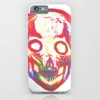 iPhone & iPod Case featuring Skull by DClemDesigns