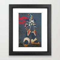 Megaman X Framed Art Print