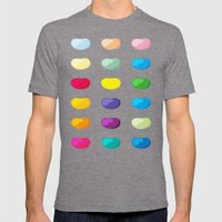 full of beans Mens Fitted Tee Tri-Grey SMALL