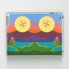 Sunset Mountains Laptop & iPad Skin