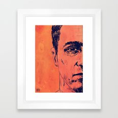 Icons: Edward Norton in Fight Club Framed Art Print
