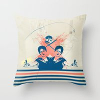Are You Happy Throw Pillow