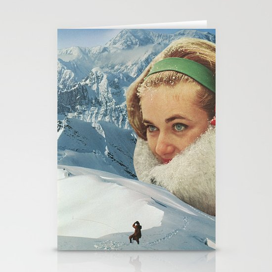 A Request for Snow Stationery Card
