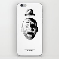 Mr. Happy iPhone & iPod Skin