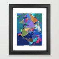 Framed Art Print featuring Untitled 20150723u by Tchmo