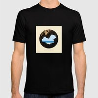 The Heart Enters Paradis… Mens Fitted Tee Black SMALL