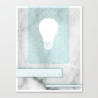 LIGHTBULB Canvas Print