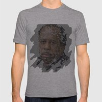 Stanley Hudson, The Office Mens Fitted Tee Athletic Grey SMALL