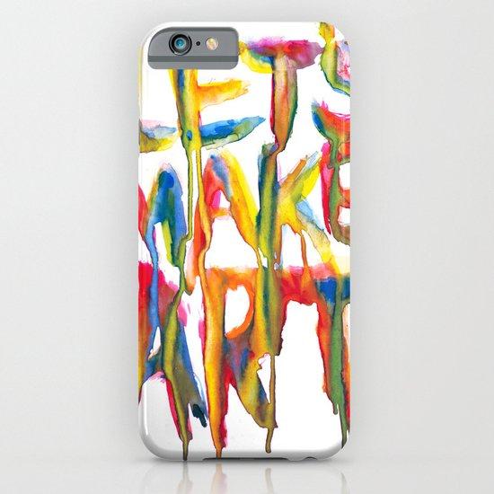 LET'S MAKE ART iPhone & iPod Case