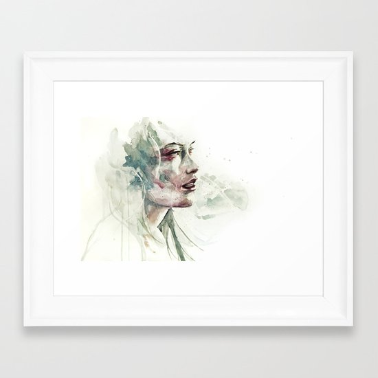 e non ci sarà nessuno Framed Art Print