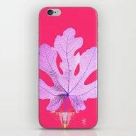 Fig Leaf Diamond Heart C… iPhone & iPod Skin