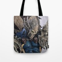 blue Spawn Tote Bag