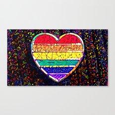 Pride 2016 Canvas Print